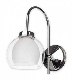 Kinkiet lampa ścienna Lemir Dexy 1X60W E27 chrom O2040K1CH