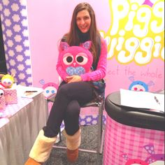 New howly owls at the new York toy fair www.howlyowls.com