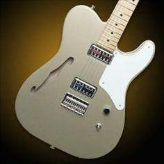 HelloMusic: Fender Guitar Cabronita Telecaster Thinline - Shoreline Gold/Maple