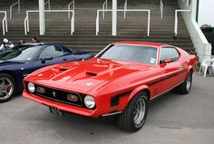 Perhaps the best car in the world...Mach 1 or not...this is beautiful!  1972 Mach 1
