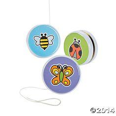Bug Buddy Yo-Yos