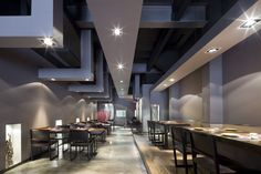 Restaurante #Nomo by #EstudiJosepCortina #design #diseño #GrupoNomo #japanesefood #Barcelona #interiorismo #deco
