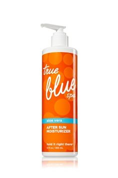 Bath and Body works True Blue Spa  After Sun Moisturizer - Hold It Right There