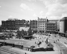 St Enoch Square, Glasgow, from St Enoch Railway Station. Scotland Kilt, Scotland History, Glasgow Scotland, Scotland Travel, Glasgow Architecture, Glasgow City, Historical Photos, Old Photos, National Parks