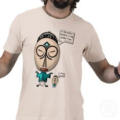 """Confuscious Say... About Mustaches (Men's T-Shirt)  For the man who hesitates when a mugger yells """"Your Mustache or Your Life!"""" - this T-Shirt's for You!  Featuring Leslie Sigal Javorek's (a.k.a. 'IconDoIt') original endearing cariacature of the revered teacher-philospher from ancient times (approx. 570 B.C.E.), who taught his students that """"A man without a mustache, is a man without a soul"""". Cool father's day gift! Only at: www.zazzle.com/icondoit/shirt+him+gifts?rf=238155573613991097"""