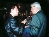 San Sebastian International Film Festival & Historical Pictures: Pedro Almodóvar, Bertrand Tavernier, 1996.