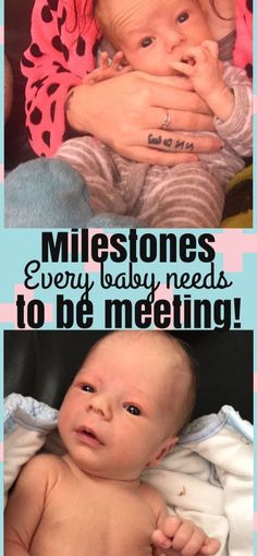 Milestones every baby should be hitting – mamaunrated