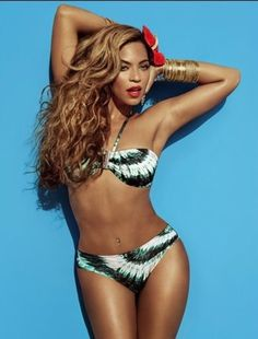 Beyoncé Is Hotter Than Summer in H Print Campaign.