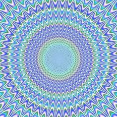 Optical Illusion .........well, not a fractal, exactly, but who cares...this gave me a (good) headache!  :) :)