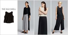 EILEEN FISHER Spring Icons Collection: The Silk Shell
