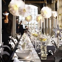New Year Eve Party Decorations | new years eve table | Party Ideas