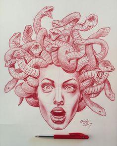Medusa Angelina Jolie By Remco de Vogel