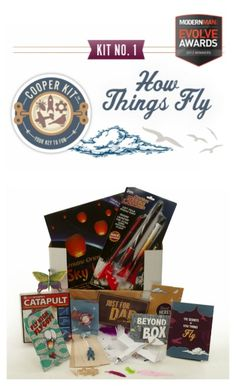 Cooper & Kid gift box made especially for dads + their kids. (Though moms will like it too!) Genius gift.