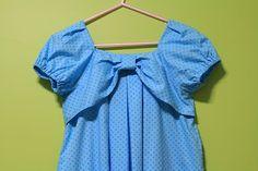 mommy sew pretty: Bow-tie dress sew-along - Part 2