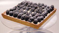 Bramen-mascarponetaart - Rudolph's Bakery   24Kitchen kan met allerlei soorten fruit: frambozen, aardbeien, kiwi, etc.