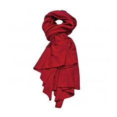 Beryll Chianti Cashmere Scarf ($735) ❤ liked on Polyvore