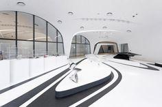 Futuristic Architecture, Zaha Hadid, Dongdaemun Design Plaza, Seoul, South Korea, Future Architecture, Modern Building, Futuristic Interior