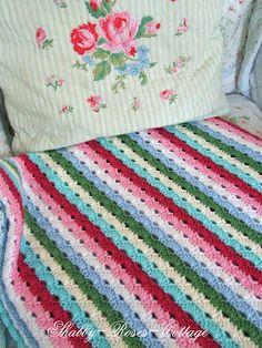 Shabby-Roses-Cottage: crochet-häkeln