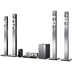 SAMSUNG - HT-F9750W 5 Speaker 7.1 Smart 3D Blu-ray and DVD Home Theatre System | Selfridges.com