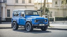 View the Land Rover Defender TDCi XS Station Wagon The End Edition by Kahn Automobiles Kahn Defender, Land Rover Defender, Kahn Design, Car Goals, Station Wagon, Classic Trucks, Range Rover, Offroad, Landing