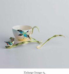 Hummingbird Cup/Saucer Set
