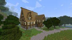 minecraft cottage tavern little houses path deviantart buildings adorable