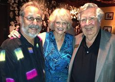 Sister Cities member Eric Hilton, with Sister Cities Board member Beth Ruyle Hullinger and Sister Cities President Tom Halbert at the January 2013 Meet & Greet at Ocean Blues in Hillview in Sarasota.