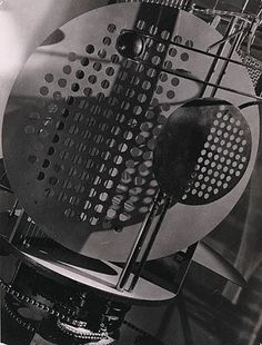 "Laszlo Moholy-Nagy ""Light-space-modulator"" 1922-1930  Art Experience NYC  www.artexperiencenyc.com"