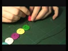 How to make FIMO button bracelets