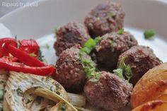 Keftedakit eli kreikkalaiset lihapullat