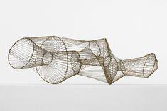 Harry Bertoia wire sculpture