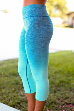 Get Fit Leggings - Mint