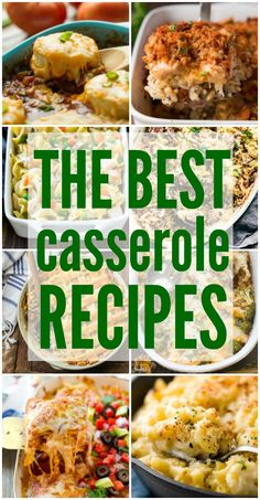 The Best Casserole Recipes