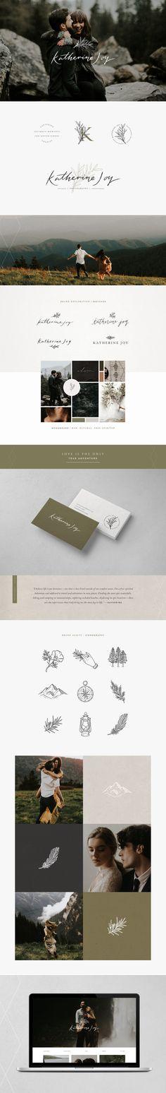 Katherine Joy | wedding photographer branding | by Corinne Alexandra
