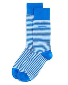 Boss Hugo Boss Marc Striped Cotton Socks