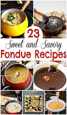 Looking for a delicious fondue recipe? We found the very best fondue recipes for parties, with dessert, cheese and more. Dips Für Fondue, Fondue Raclette, Fondue Party, Fondue Ideas, Best Fondue Recipe, Best Cheese Fondue, Crockpot Fondue, Cheese Fondue Dippers, Fondue Restaurant