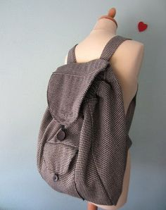 DIY Backpack. See how to do it
