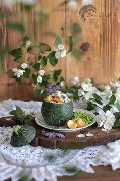 Lawendowy ryż z cukinią i kapustą pekińską - Zen w kuchni