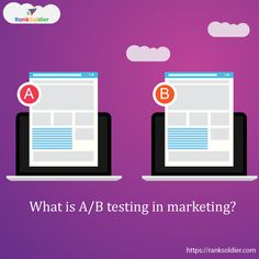 It is a way of marketing in which you test different variations of your marketing campaign say 'A' & 'B' by splitting your audience. A/B testing is also known as split testing and it allows you to determine which of your campaign is better. Digital Marketing Services, Seo Services, Content Marketing, Social Media Marketing, Search Optimization, Custom Website Design, Media Campaign, Marketing Techniques, Brand Guidelines