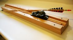 arrowjig1. an arrow jig for making arrows.  Douglas Fir Arrow.                                                                                                                                                                                 More