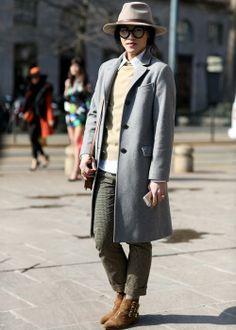 Best street style: Milan Fashion Week Fall 2014 - Elle Canada