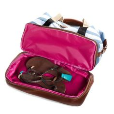 Po Campo Midway Weekender Gym Bag with Shoe Compartment