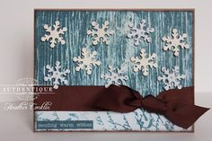 Winter Card by Authentique Paper Design Team Member Heather Conklin