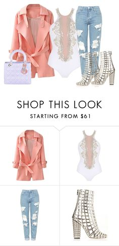 """""""Untitled #326"""" by samstyles001 on Polyvore featuring La Perla, Topshop, Yves Saint Laurent and Christian Dior"""