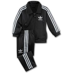 Adidas Infants & Toddlers Firebird Track Suit ($30) ❤ liked on Polyvore featuring baby, baby clothes, baby stuff, kids and kids clothes