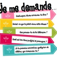 """Je me demande"" un outils pour relancer l'écriture libre. French Teaching Resources, Teaching French, Writing Resources, Writing Activities, Writing Prompts, Education And Literacy, French Education, Mix Media, French Practice"