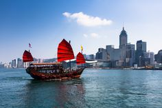 https://flic.kr/p/EEMszr | Red sail junk | The Aqua Luna is maybe one of the most photographed boats in Hong Kong. Find the whole HK travel story here: www.steffenwalther-photographics.de/unterwegs-hong-kong/