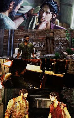 """The Last of Us - Joel & Tess """"There's enough here that you have to feel some obligation to me. Beyond Two Souls, Video Game Addiction, Vampire Masquerade, Marshall, Horror Video Games, Burning Bridges, I Love Games, The Evil Within, Funny Games"""