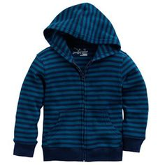 Jumping Beans ® Striped Thermal Hoodie - Toddler