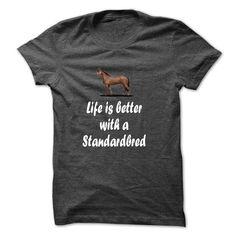 standardbred Horse T Shirts, Hoodies. Check price ==► https://www.sunfrog.com/LifeStyle/standardbred-Horse.html?41382